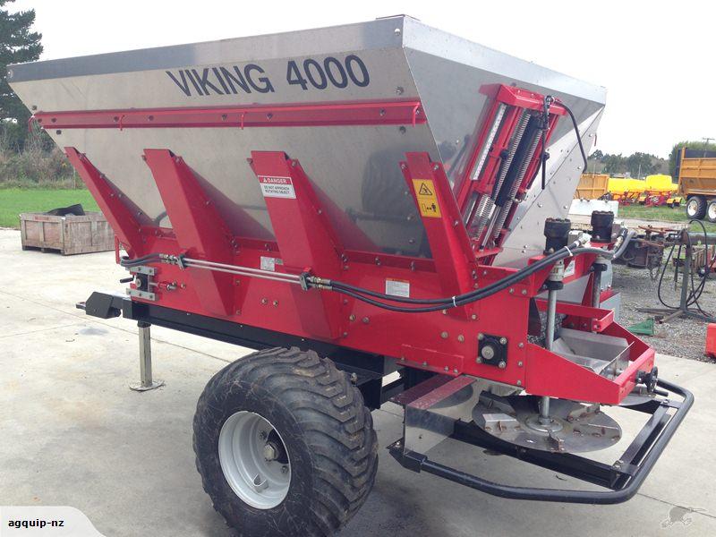Viking Fert / Lime / Compost Spreader (4 TONNE)   Farm ...