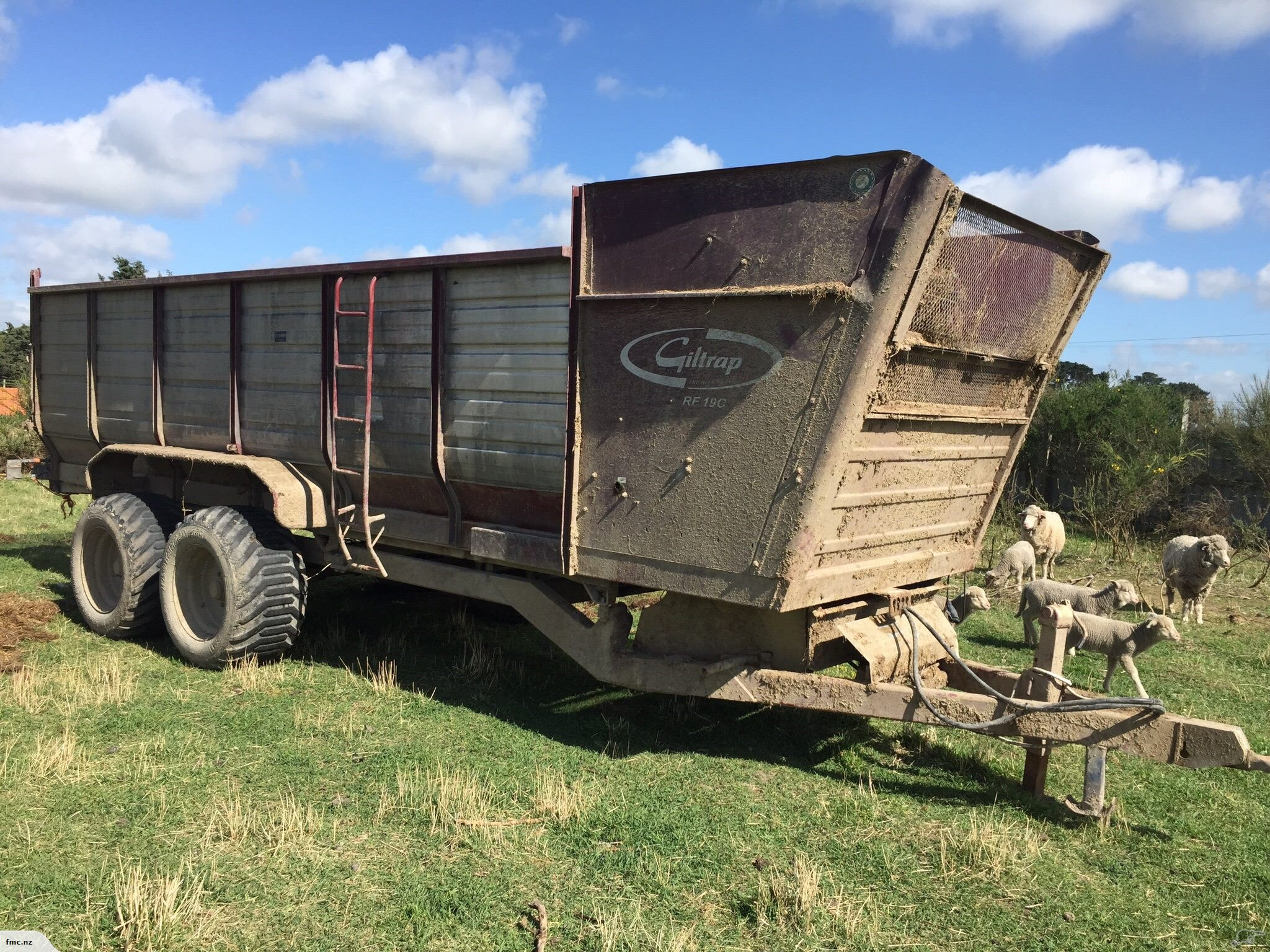 hfs feeder wagon information more modelpicture attachment hay diller see
